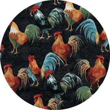 sort hane elsker