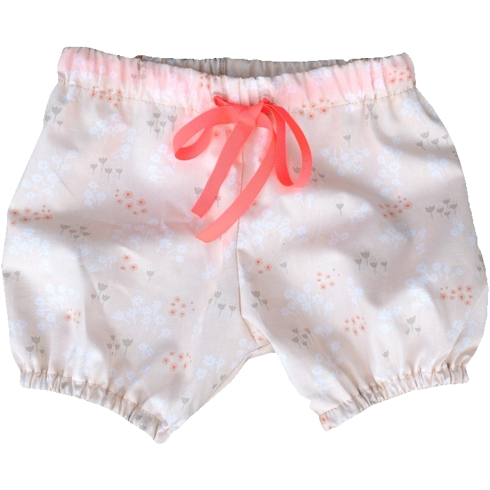 Baby Bloomers Shorts med snørre