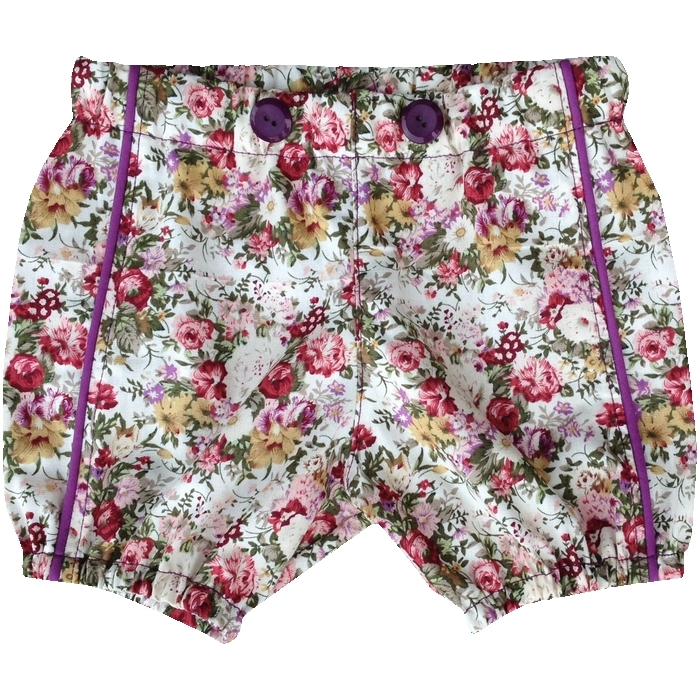 Baby Bloomers Shorts med tittekant
