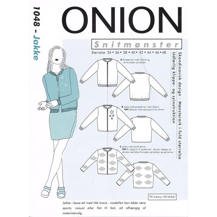 Onion Køb Snitmønster jacket symønster her 1048 bomber vwrRvU