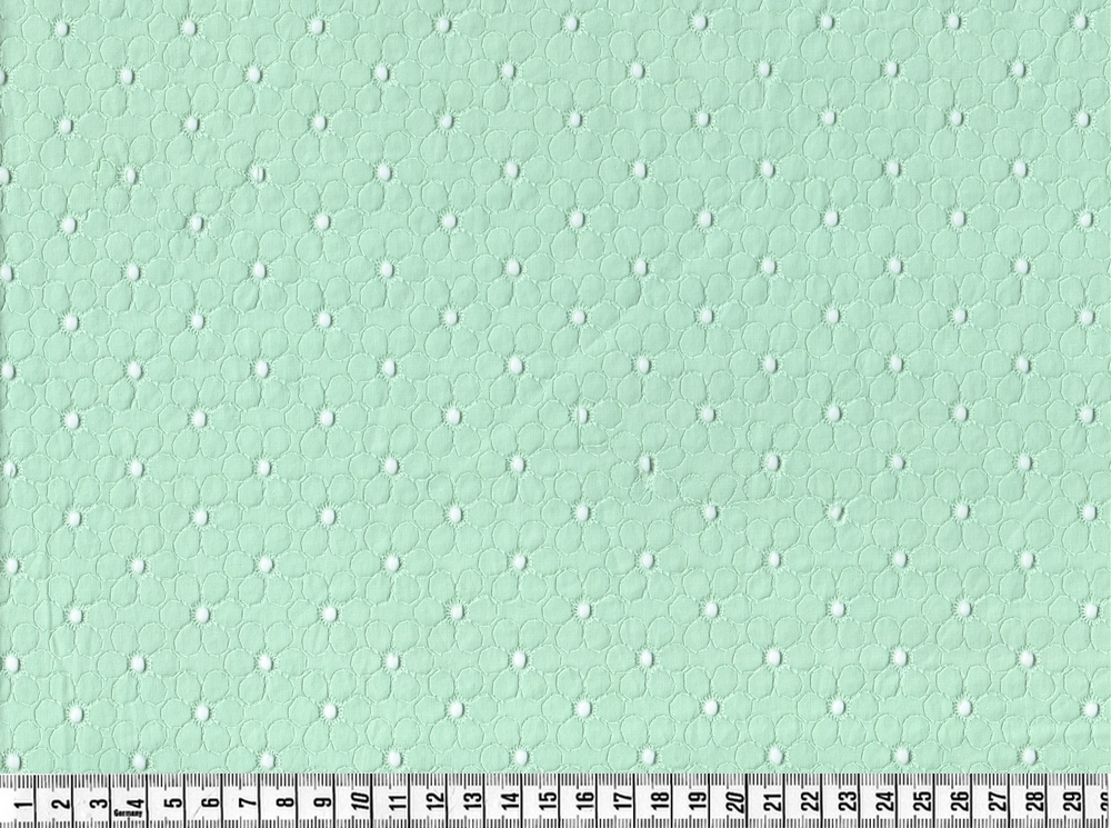 Broderi anglaise i neo mint